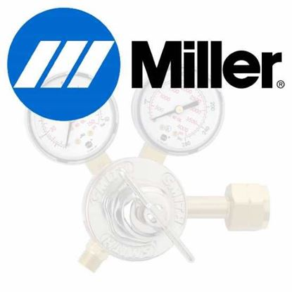 Picture of Miller Electric - 100-0000 - REGULATOR,GENERAL PURPOSE,BRASS LINE, 15 PSI