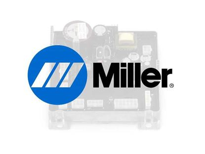 Picture of Miller Electric - 185717 - NUT,M20-1.5 1.00HEX .19H BRS LOCKING