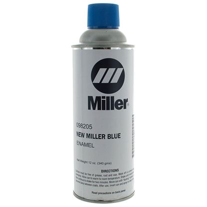 Picture of Miller Electric - 098205 - PAINT,SPRAY CAN ENAMEL BLUE MILLER 12 OZ CAN