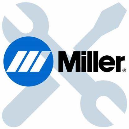 Picture of Miller Electric - 174076 - NUT, 006-32  .31HEX .15H STL PLD SEM CONE WSHR.38D